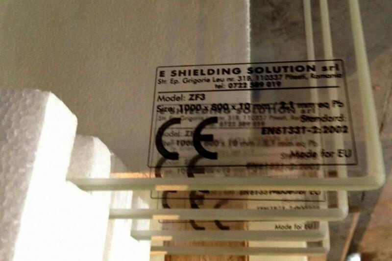 Rama si geam plumbat cu certificat CE
